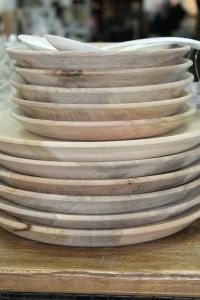 Beautiful wooden bowls from Nest, in-store at Thomas's