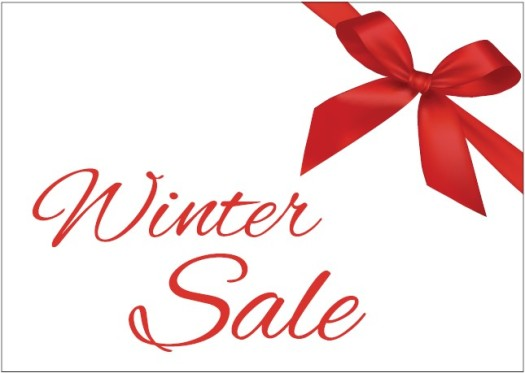 Hot winter sale at Thomas's, Marlborough