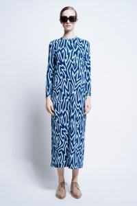 Karen Walker Maesy long-sleeve dress