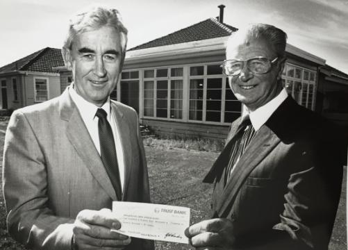 Brian Kerridge and Terry Thomas at Bethsaida, Blenheim