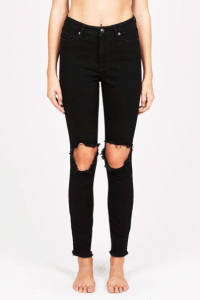 Ksubi black jeans at Thomas's